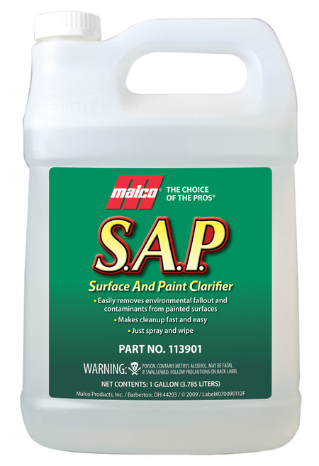 S.A.P. surface and paint clarifier