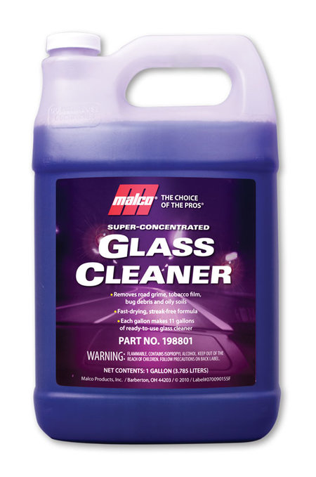 Super concentrate glass cleaner