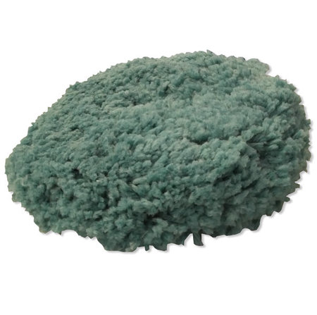 Green blended wool light cut pad 9''